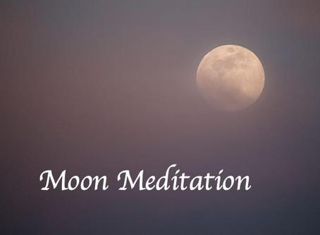 Moon meditation「月の瞑想」