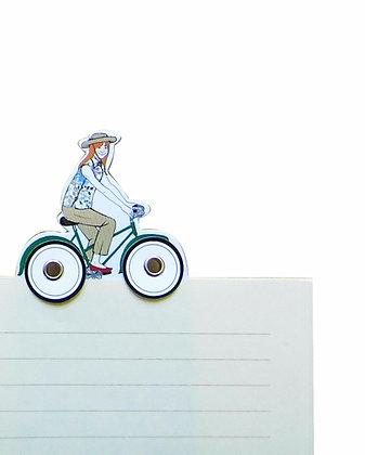 Slečna na kole
