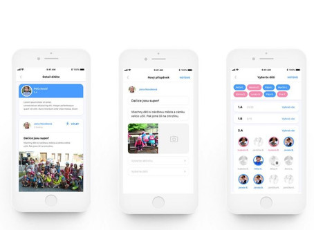 Aplikace pro komunikaci s rodiči TWIGSEE