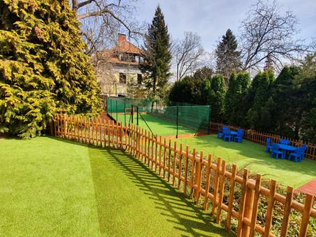 Naše nová zahrada na Smíchově