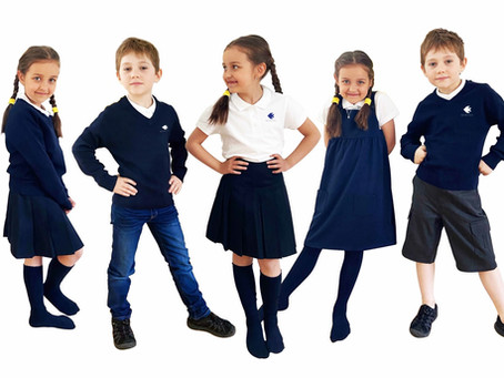 Školní uniformy na E-shopu