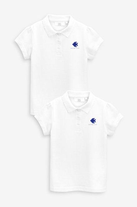 Dívčí polo trička - 5 kusů