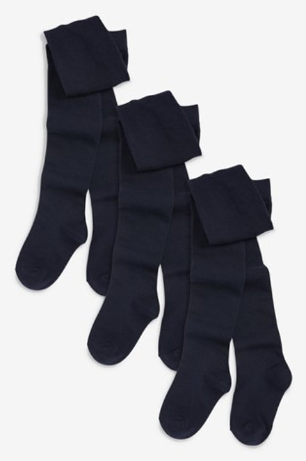 Punčocháče modré - 3 kusy