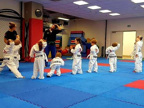 Jiu-Jitsu 🥋 v Tiger Gym