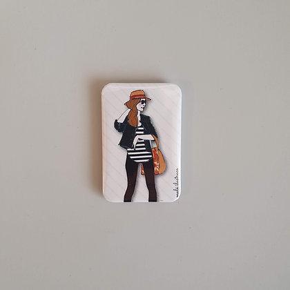 Magnetek – slečna s kloboukem