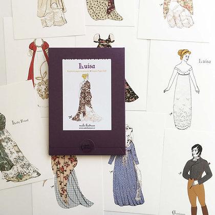 Papírová panenka Luisa - empír
