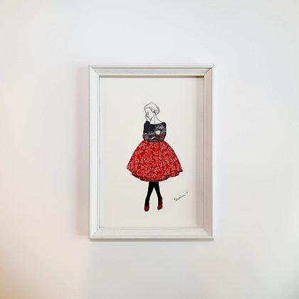 Merilyn - Ilustrace do rámečku