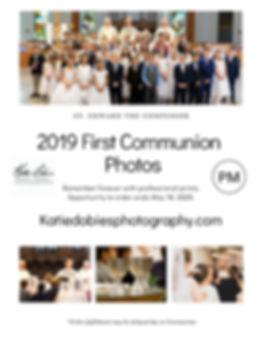 First Communion St. Edwards 2019 PM Flye