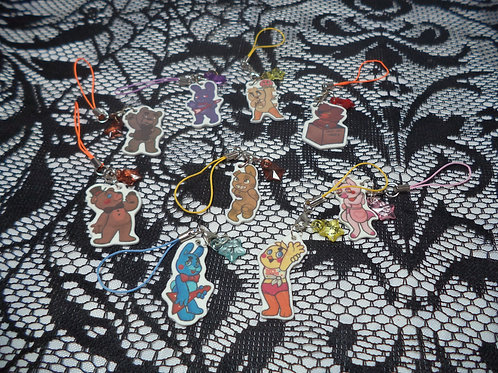 FNAF Cellphone Charms
