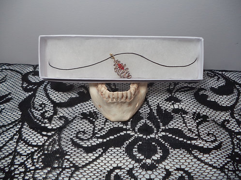 Garnet Inspired Necklace