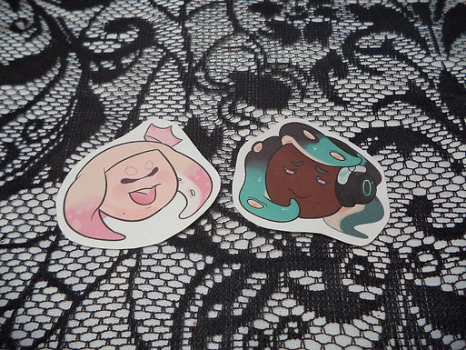 Paper Splatoon 2 Stickers
