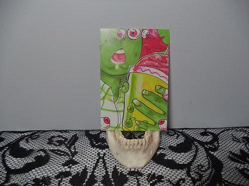 "4""x6"" Zombie Boba Mini Print"