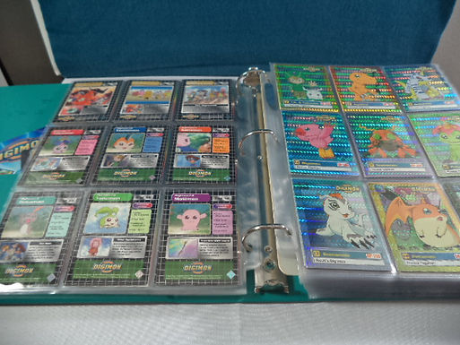 80pg Binder Digimon Digital Monster Collectible Cards