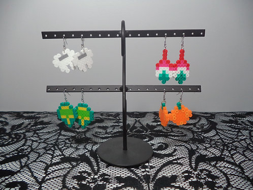 Halloween Perler Earrings