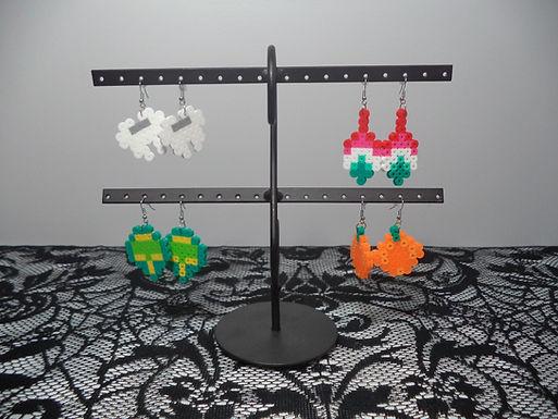 Halloween Perler Earrings