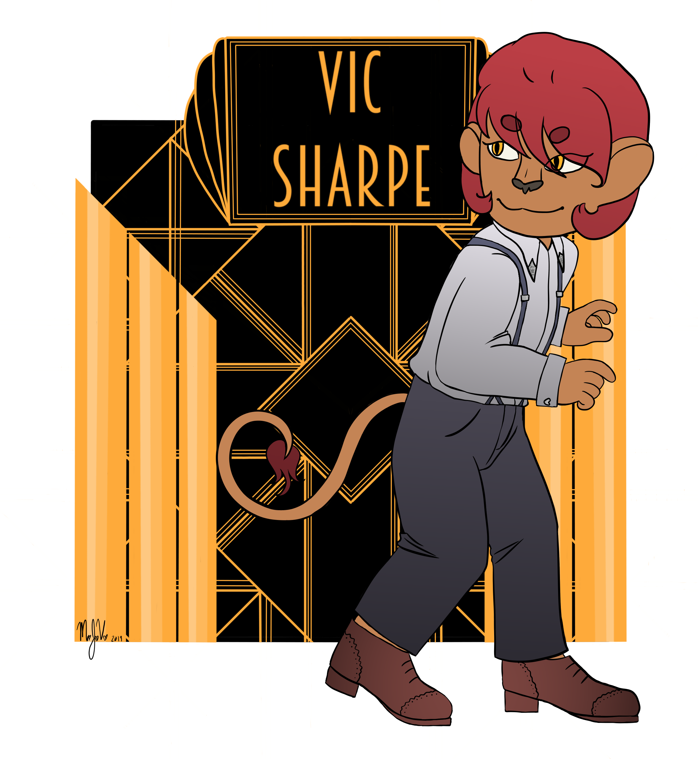 Vic Sharpe Full Color