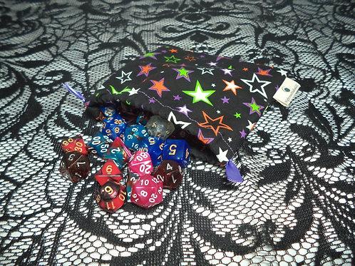Starry Drawstring Dice Bag