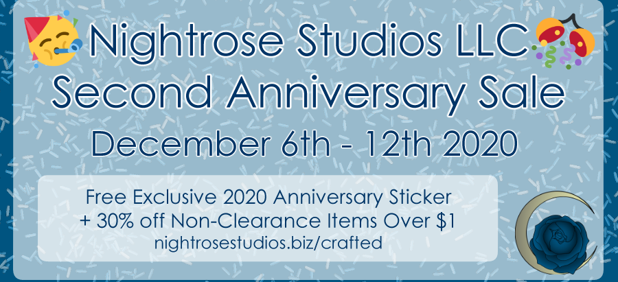 Anniversary Sale, New Merch, and Etsy Reopening