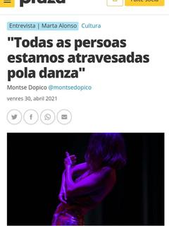 Entrevista: Montse Dopico / Praza Pública. BAILAR AGORA