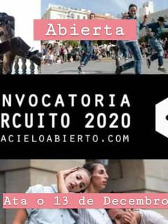 Corpo(a)terra / Circuito 2020 Acieloabierto