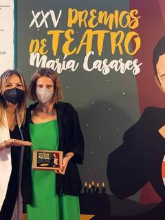 Finalista a mellor actriz secundaria XXV Premios María Casares