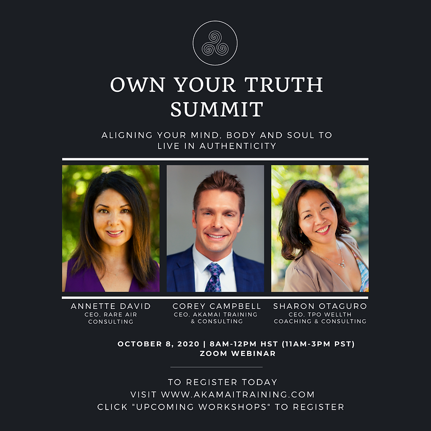 Own Your Truth Summit