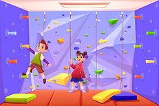 enfants-escalade-mur-jouer-recreation-se