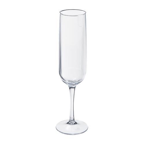 Copa Espumante Fun de Plastico 160 ml Cristal