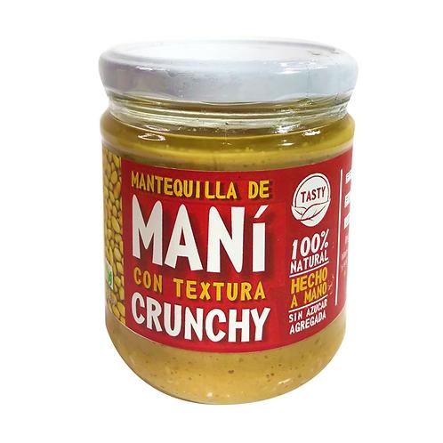 Mantequilla de maní con textura Crunchy 630g