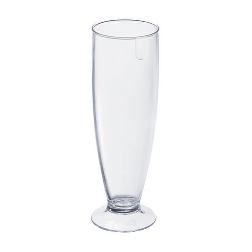 Tulipa Fun de Plastico 300ml Cristal Trasparente