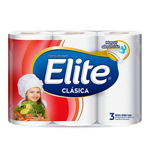 Papel toalla Elite clásica 3x8