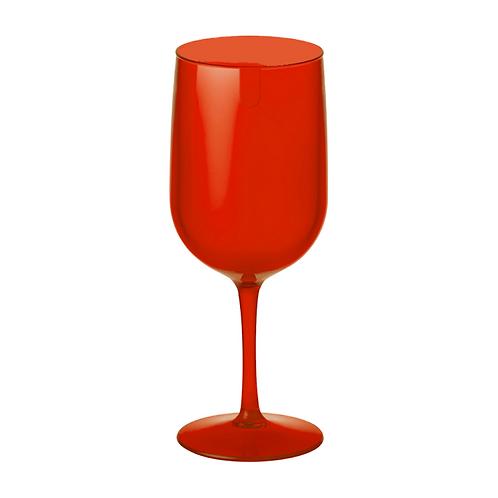 Copa Agua/Vino 380 ml - Rojo Transparente
