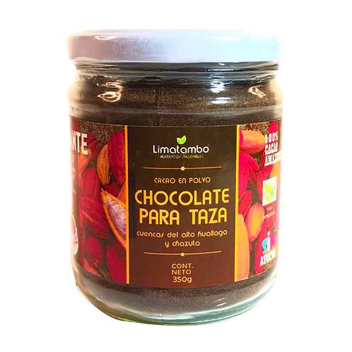 Cacao en polvo vidrio 350g