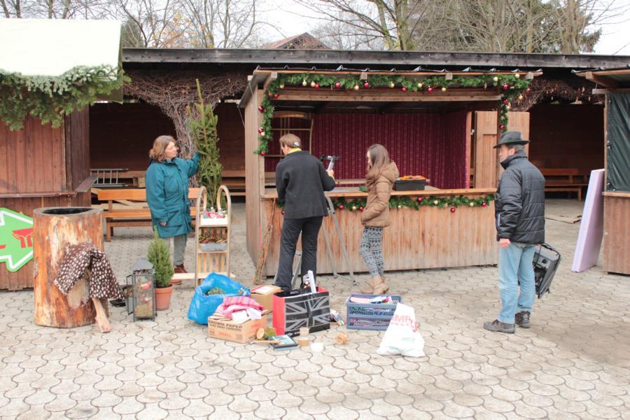 Aufbauarbeiten Bad Wiessee