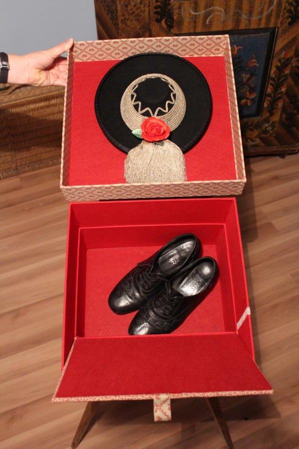 Hutschachtel mit Schuhfach