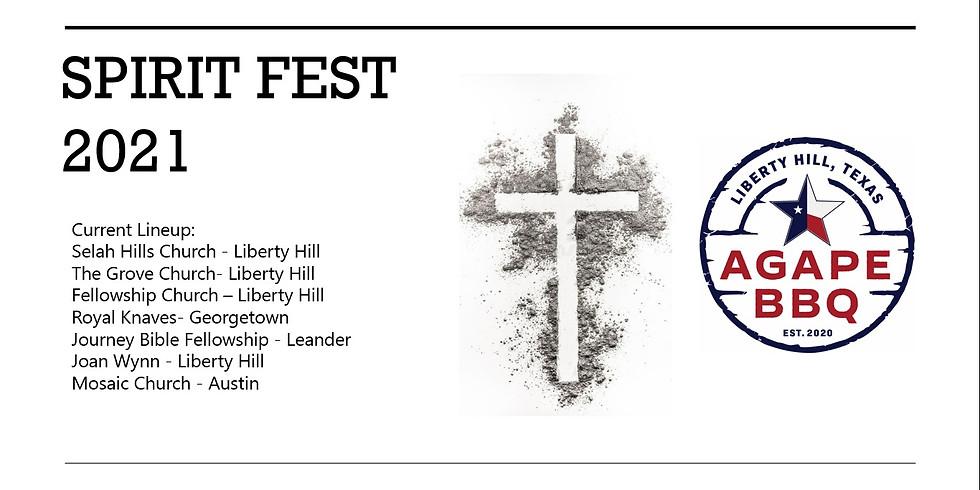 1st Annual Agape Spirit Fest