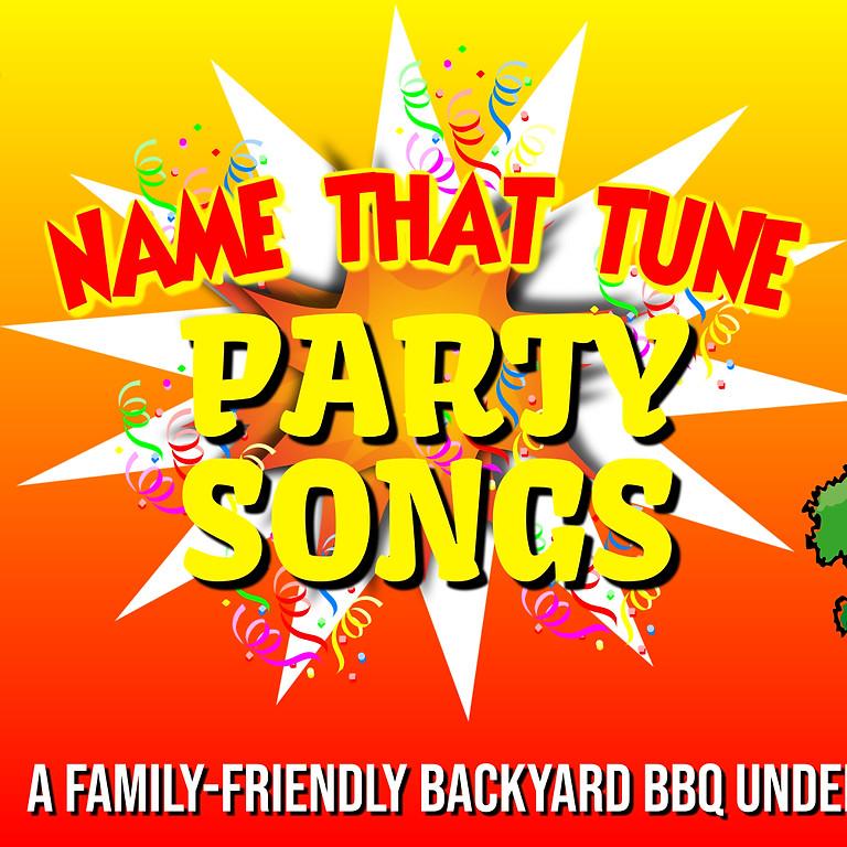 Name That Tune Bingo - Party Songs