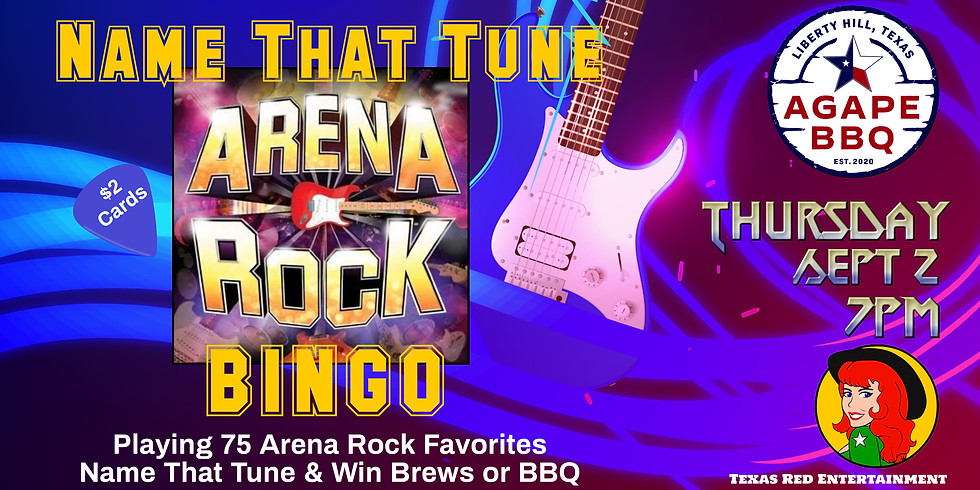 Name That Tune Bingo by Texas Red Entertainment