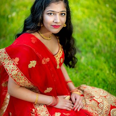 Jyothsna Sweet 16 Portraits