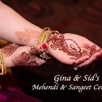 Sid & Gina Sangeet
