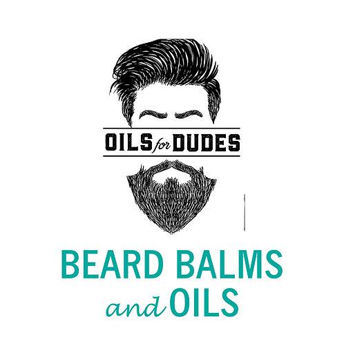 Oils For Dudes - Beard Balm & Oil - Saturday June 15 - 1pm