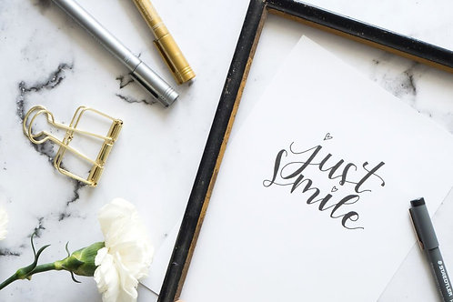 Modern Calligraphy - Sunday June 23 - 1pm
