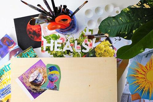 The Self-Mandala: An Art & Wellness Workshop - Wednesday October 2 - 6pm