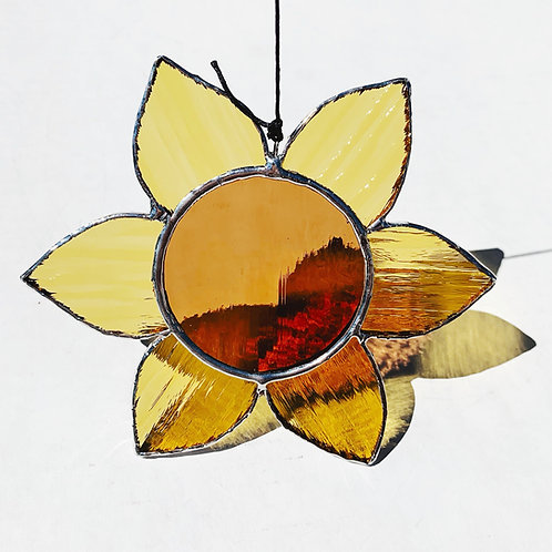 Stained Glass Flower, Feather, Bee, Bird or Crystal - Thursday October 3 - 6PM