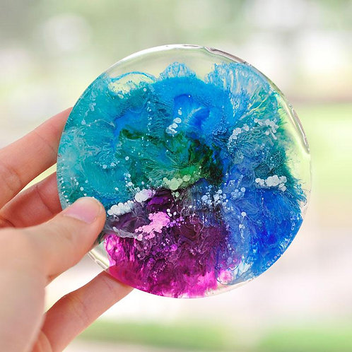 Resin & Alcohol Ink Coasters - Wednesday November 20 - 6pm