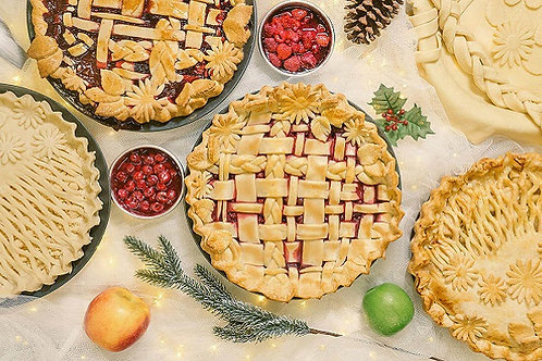 Bake Lab - Holiday Decorative Pies - Tuesday December 10 - 6pm