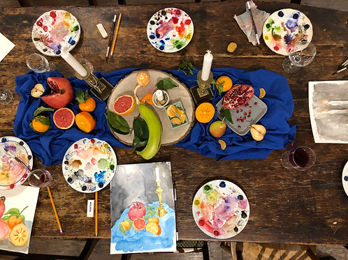 Watercolour w/ Koe Design Studio - Saturday April 6 - 1pm
