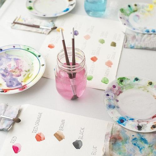 Watercolour w/ Koe Design Studio - Saturday February 16 - 1pm