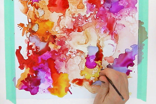 Drink n' Ink - Alcohol Ink Art - Saturday March 28 - 4pm