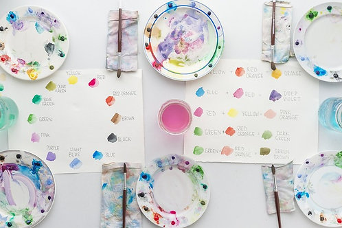 Botanical Watercolour w/ Koe Design Studio - Sunday January 26 - 1pm